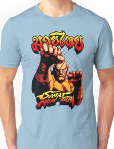 sagat muay thai street fighter heroes fighter thailand kick master Unisex T-Shirt