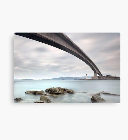 Road bridge rocks Metal Print