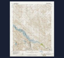 USGS TOPO Map Arizona AZ Parker Dam 314876 1959 62500 Kids Tee