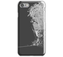 San Francisco in wireframe iPhone Case/Skin