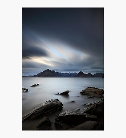 Elgol Portrait Photographic Print