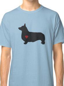 Pembroke Welsh Corgi Silhouette Classic T-Shirt