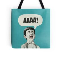 AAAA! (Blue) Tote Bag
