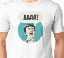 AAAA! (Blue) Unisex T-Shirt