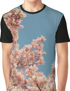Pink Blossoms Graphic T-Shirt