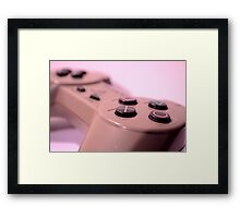 PS1 Game Pad Framed Print