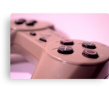PS1 Game Pad Canvas Print