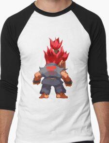 Puzzle Demon Men's Baseball ¾ T-Shirt