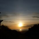Brean Sunset by Neill Parker