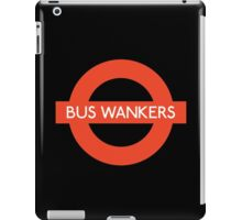 Bus Wankers! The Inbetweeners  iPad Case/Skin