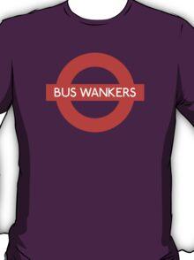 Bus Wankers! The Inbetweeners  T-Shirt