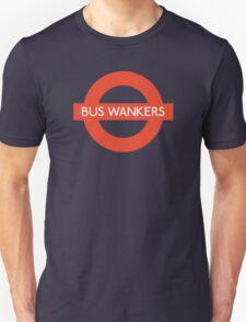 Bus Wankers! The Inbetweeners  Unisex T-Shirt