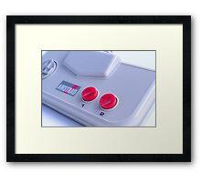 Amstrad GX400 Game Pad Framed Print
