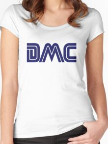 DMC Sega (white) Women's Fitted Scoop T-Shirt