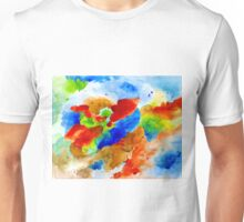 Abstract 15 colorful art by L.Dumas Unisex T-Shirt
