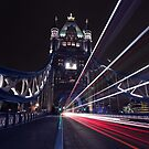 Tower Bridge Lights by Ursula Rodgers Photography