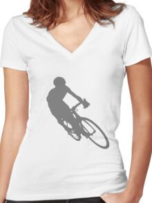 The Shadow Women's Fitted V-Neck T-Shirt