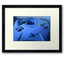 Dreamcast Game Pad Framed Print