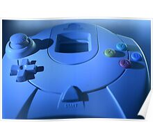Dreamcast Game Pad Poster