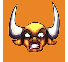 Angry Bovine Photographic Print