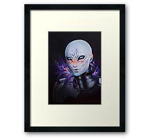 Tali Unmasked Framed Print