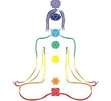 The Seven Chakras in Meditation by annekulinski