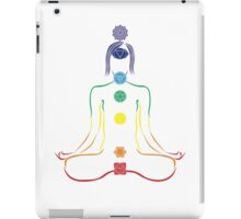 The Seven Chakras in Meditation iPad Case/Skin