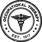 Occupational Therapy Vintage Stamp by seniorsflourish
