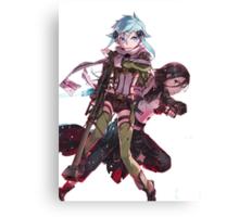 Sword Art Online/Gun Gale Online Canvas Print