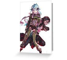Sword Art Online/Gun Gale Online Greeting Card