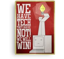 Commu-Tech Canvas Print