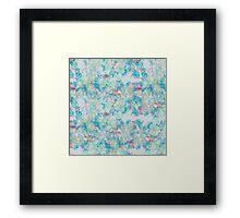 Pastel Disaster Framed Print