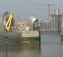 Thames Barrier by Neill Parker