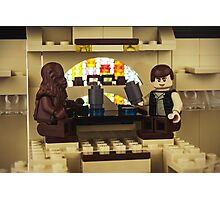 Old friends - Chewbacca and Han Solo Photographic Print