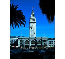 San Francisco Ferry Terminal Photographic Print