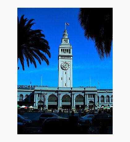 San Francisco Ferry Terminal Photographic Print