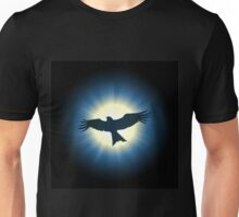 Flying nighthawk Unisex T-Shirt