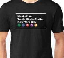 TMNT NYC Subway Sign Unisex T-Shirt