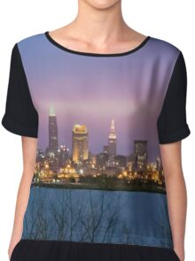 City Scape Dawn Chiffon Top