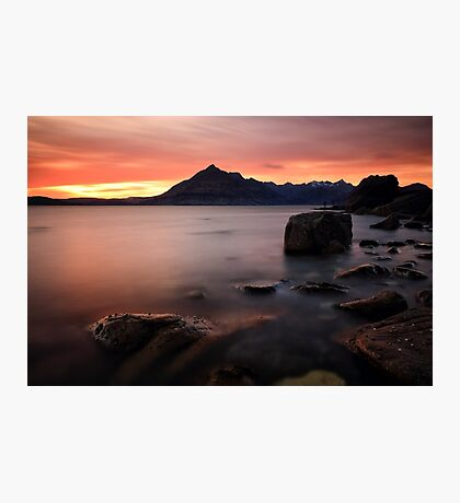 Elgol Rocks Photographic Print