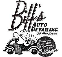 Biffs Auto Detailing Photographic Print