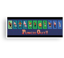 Punch out Canvas Print