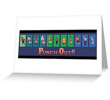 Punch out Greeting Card