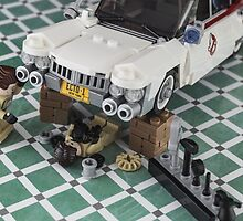 Ghostbusters ECTO - 1 repair  by Peter Kappel