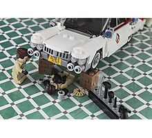 Ghostbusters ECTO - 1 repair  Photographic Print