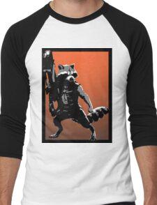 Rocket Racoon Men's Baseball ¾ T-Shirt