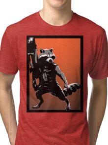 Rocket Racoon Tri-blend T-Shirt