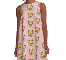 The Yarn Games A-Line Dress