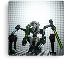 General Grievous - LEGO Star Wars Canvas Print