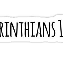 1 Corinthians 16:13 Sticker